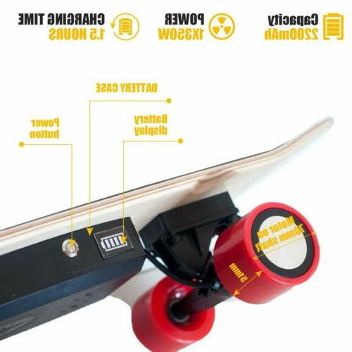 Electric Skateboard Scooter Longboard with Control