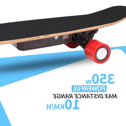 Electric Skateboard 350W Scooter Remote Control