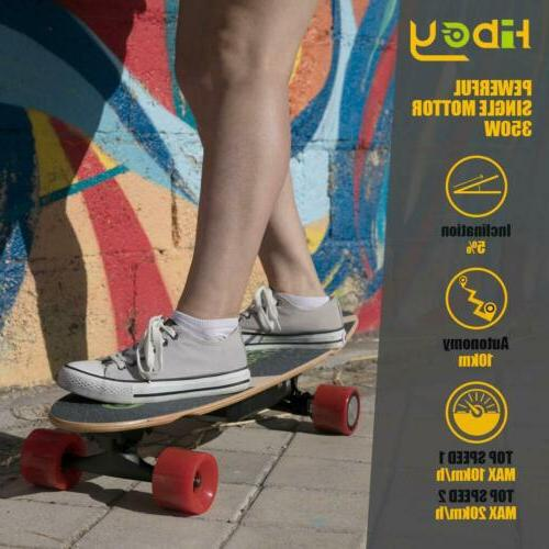 Electric Skateboard Scooter Longboard with Remote Control 4 Wheels