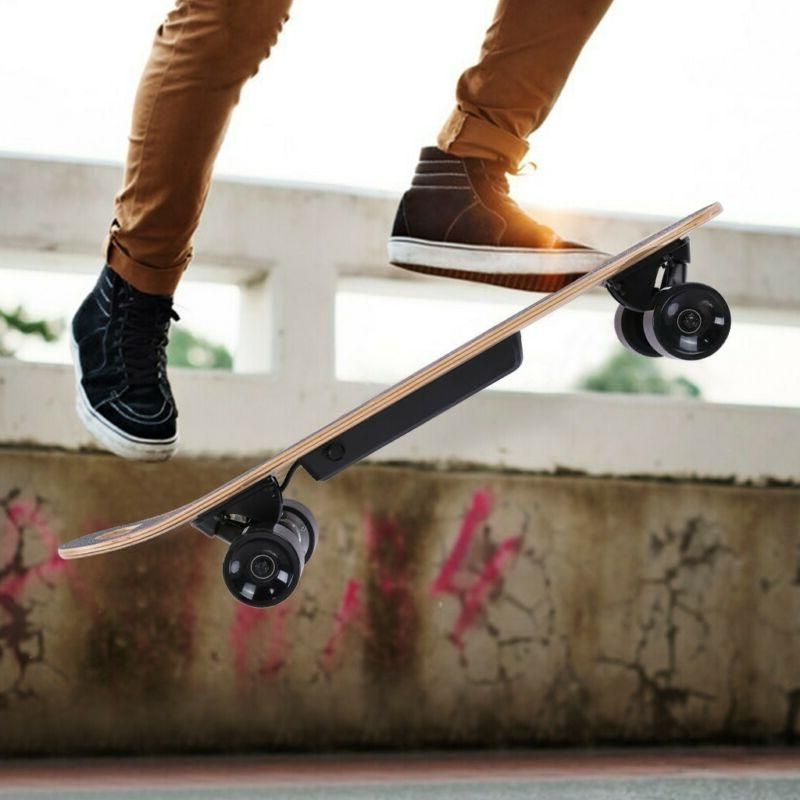 Electric 7 Maple Longboard Scooter With Hub