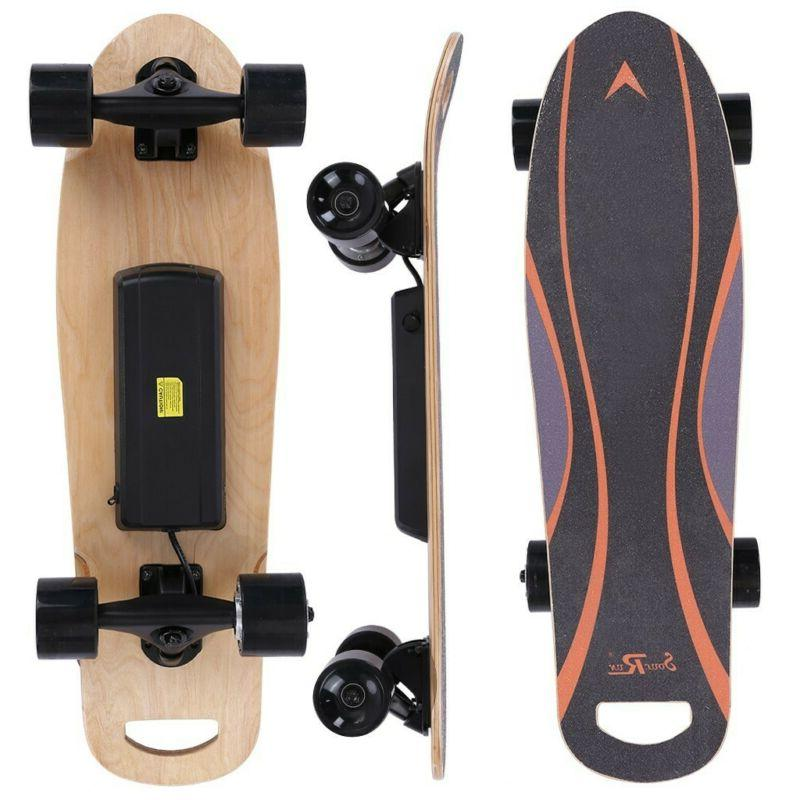 Electric Skateboard Maple Concave Longboard With