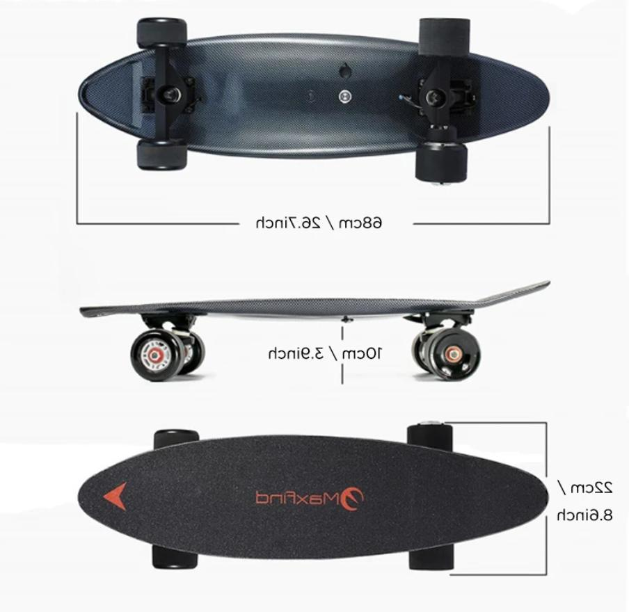 Electric 8 Mile Distance, MPH, 300W Hub Motor, Cruise Remote