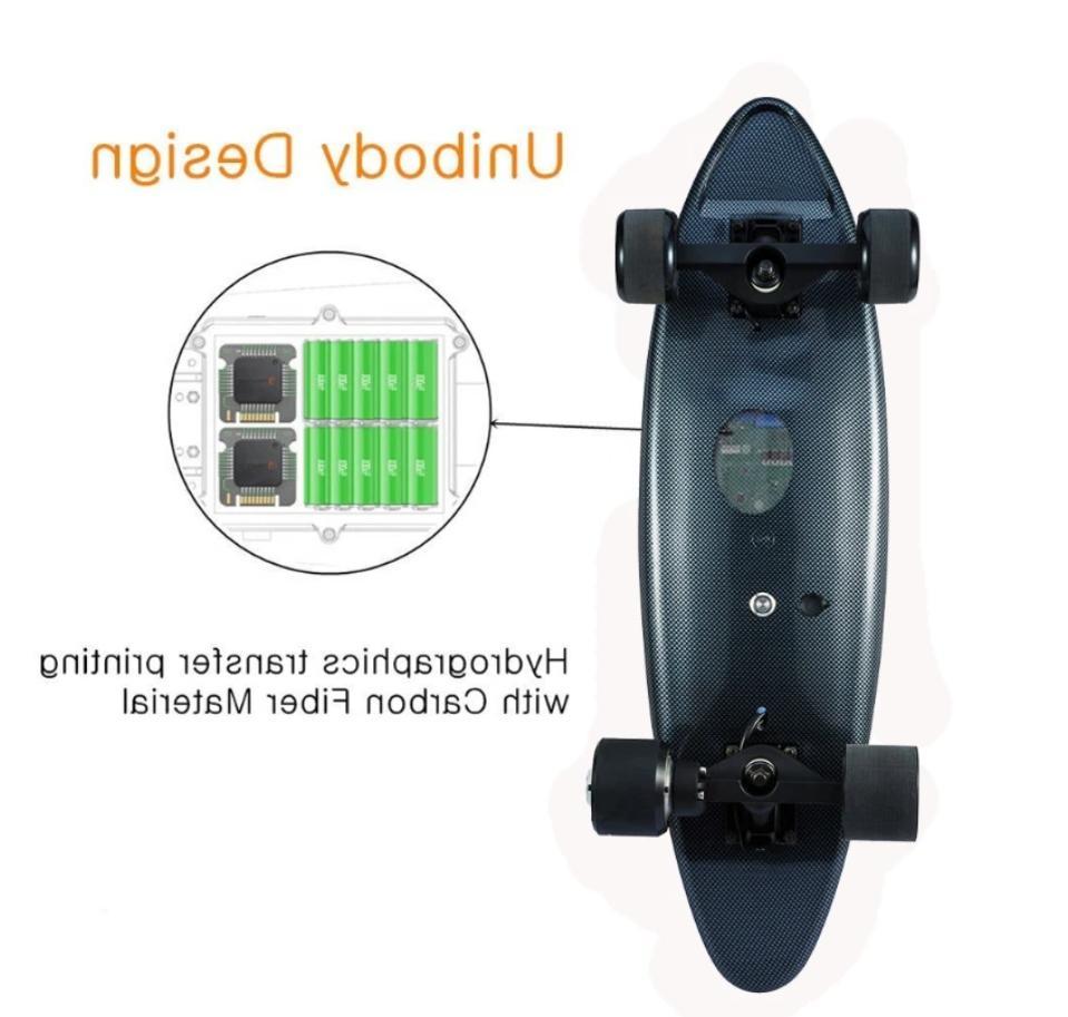 Electric Skateboard 8 Distance, 13 MPH, Hub