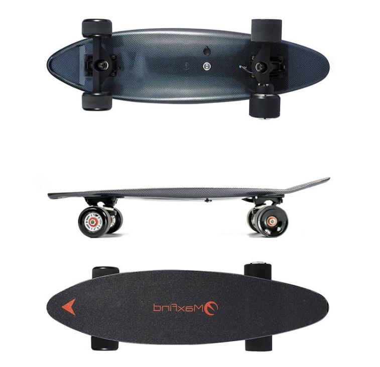 electric skateboard 8 mile distance 13 mph