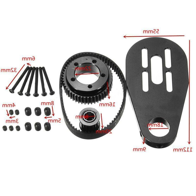 For Skateboard Accessories Belt Motor Mount