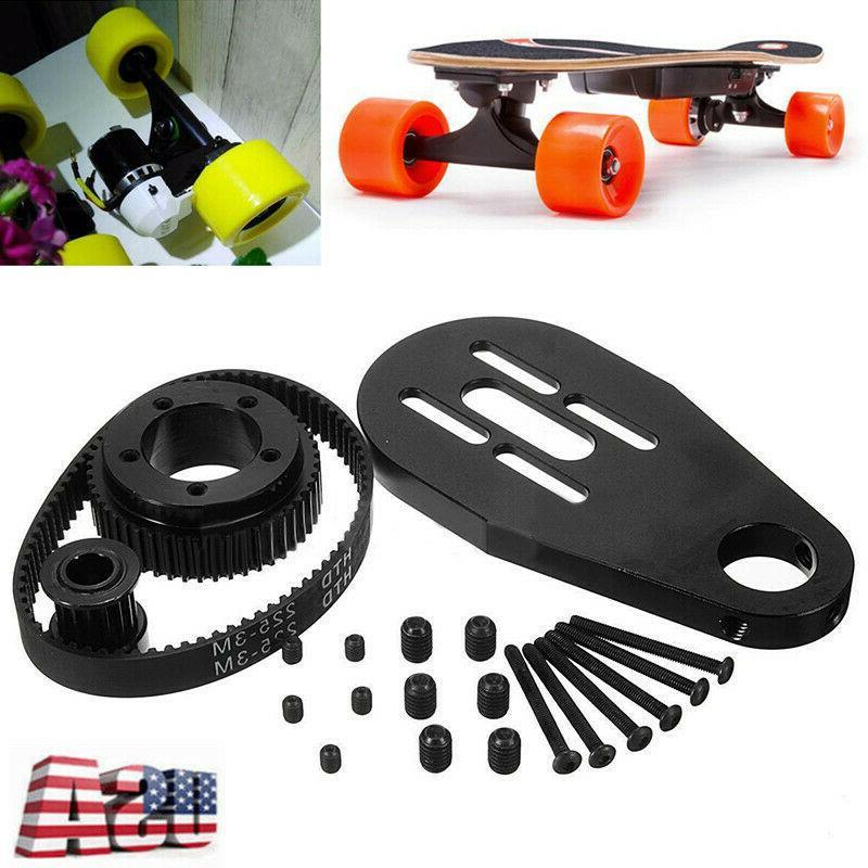 electric skateboard accessories belt kit motor