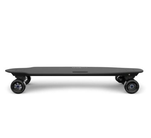 electric skateboard black wheels 34 5 inch