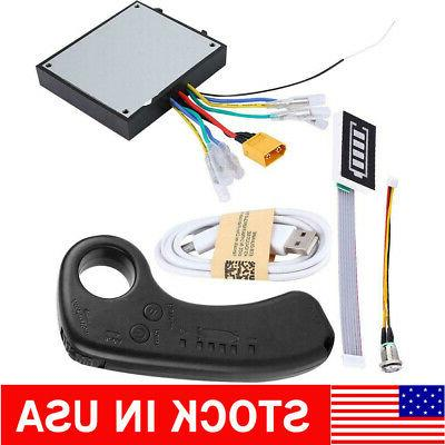electric skateboard controller remote dual motors fit