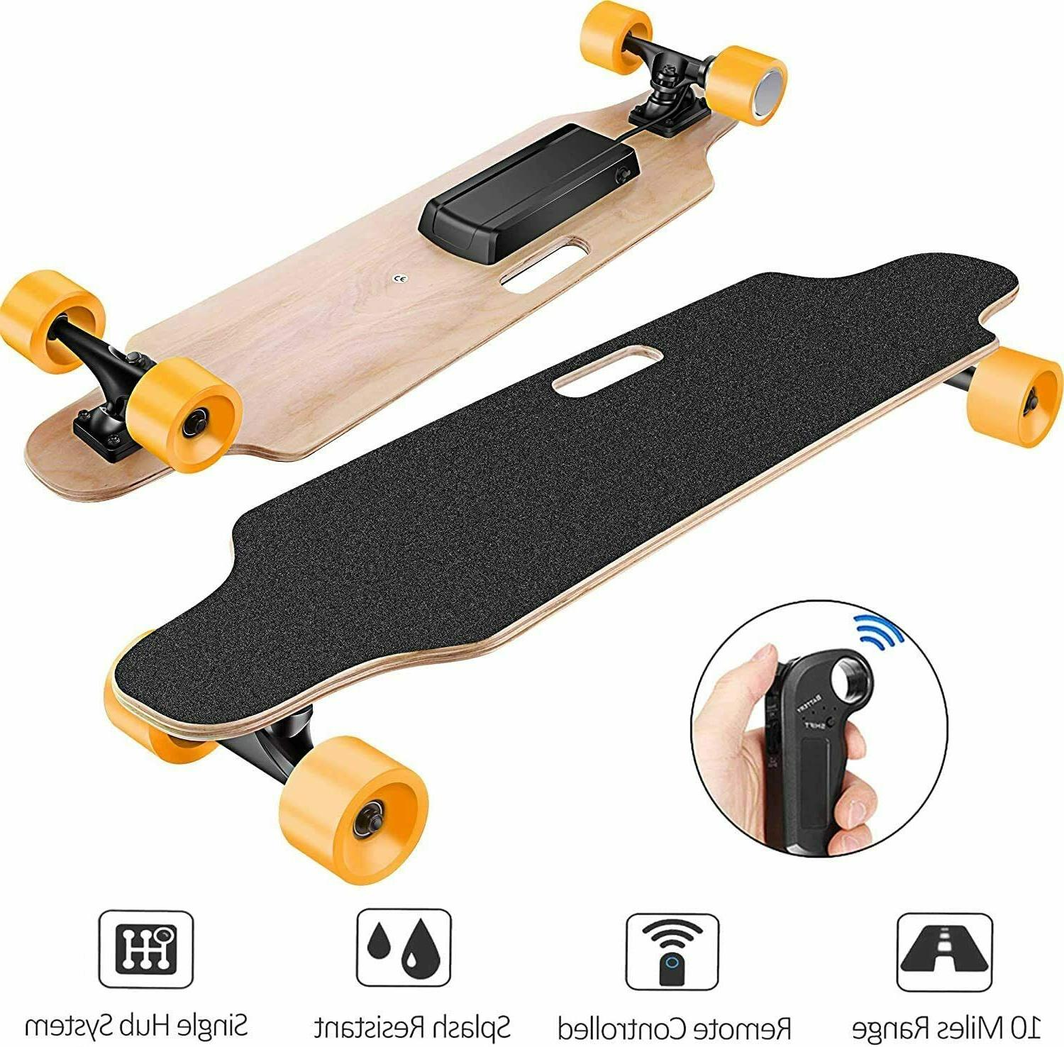 Aceshin Electric Cruiser Maple Board +Remote