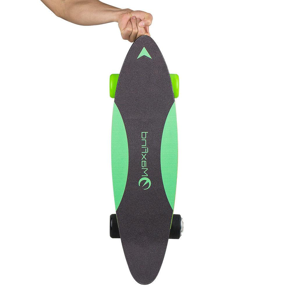 electric skateboard cruiser motor penny board remote