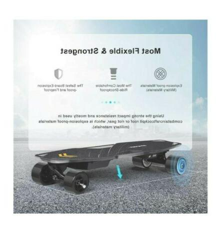 Spadger Electric Skateboard Plus 23Mph - New WH
