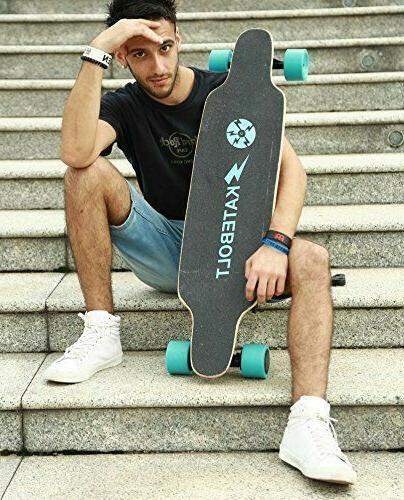electric skateboard dual 250w motors 14miles range