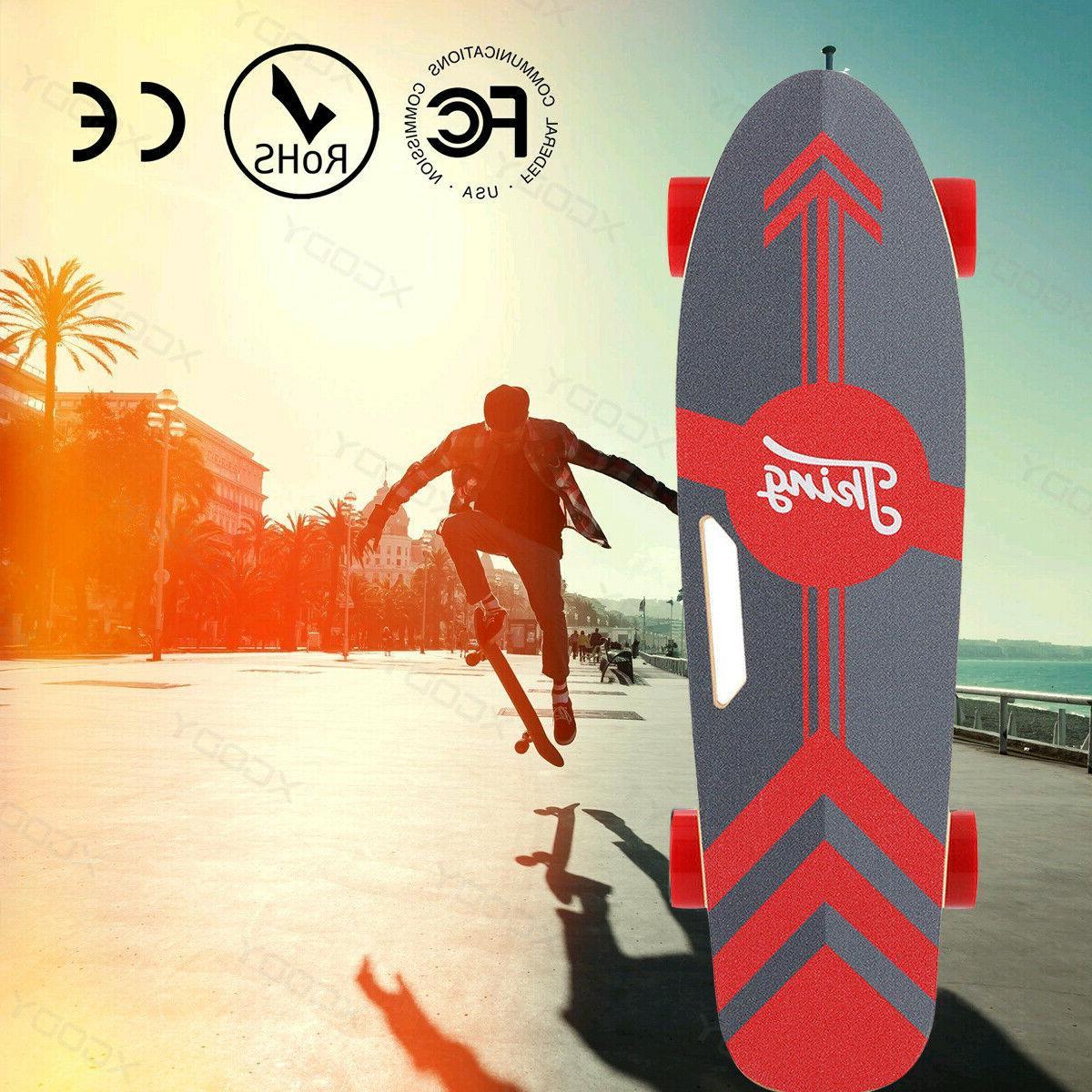 ANCHEER Electric Skateboard Teens Power Motor Smart Sensors