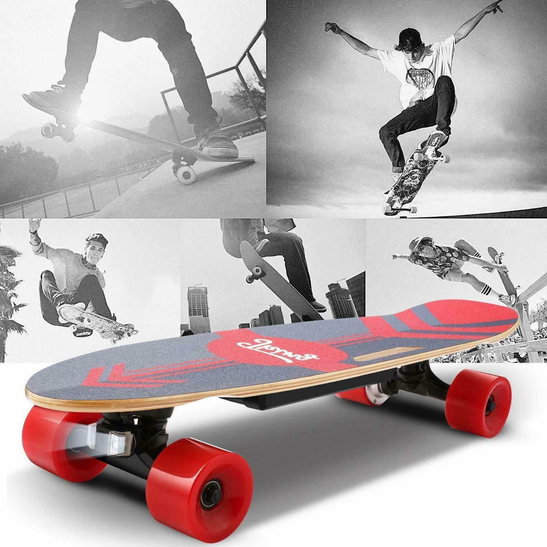 ANCHEER Electric Skateboard 350W Motor Longboard w/Remote Control