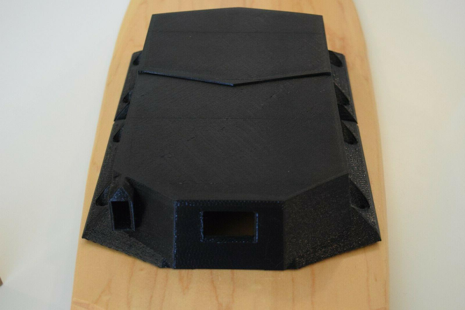 customizable electric skateboard enclosure for battery