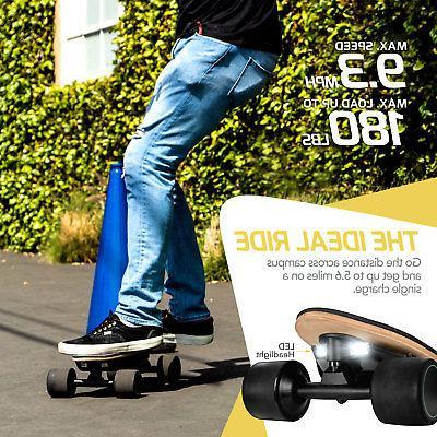 SWAGTRON Electric Skateboard Kids Max 8 Size