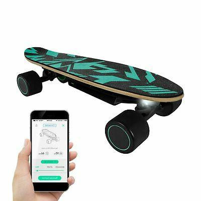 electric skateboard for kids 9 3mph max