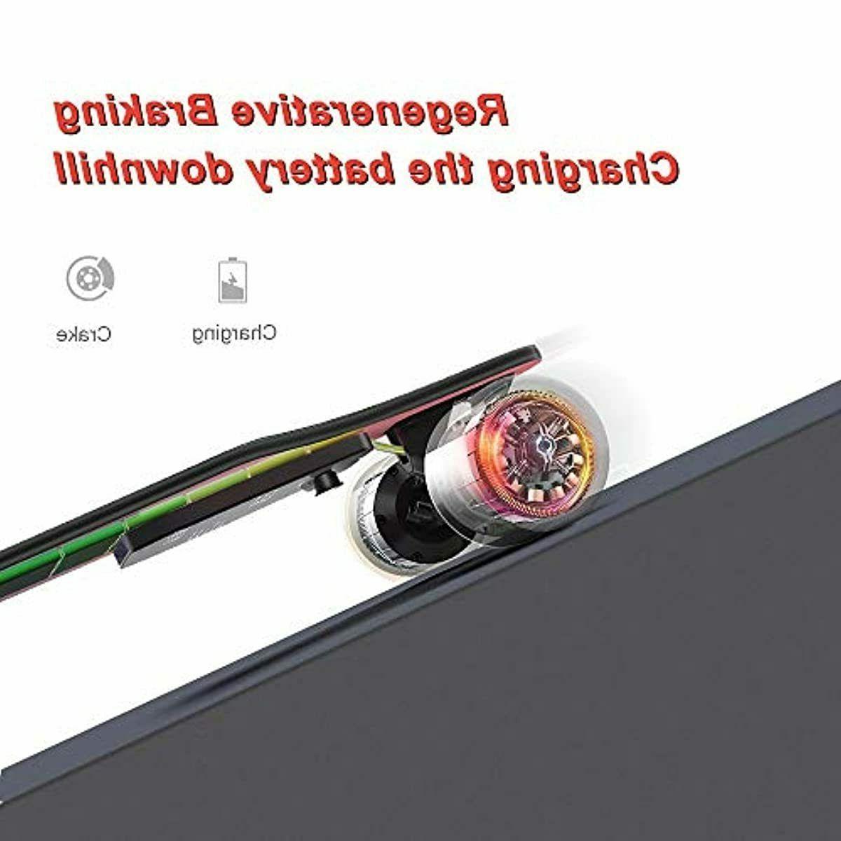 "Electric Skateboard 37"" Motor MPH"