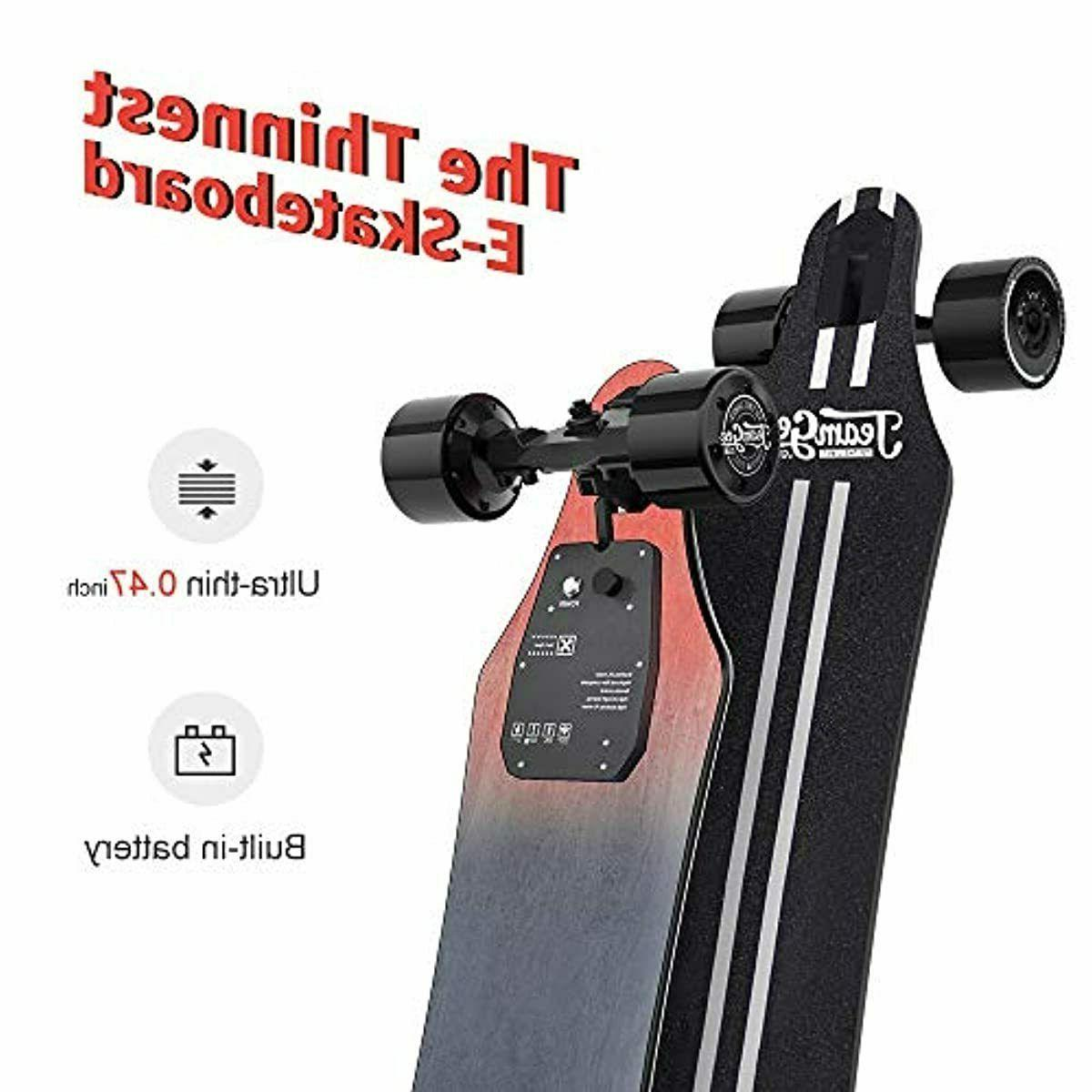 Electric Skateboard Top Double Motor Miles 22 MPH