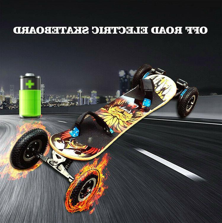 Electric Skateboard Motor Remote Off Wheels 50KM/H