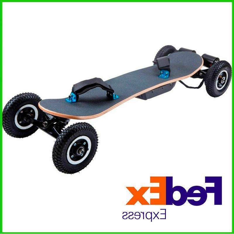 electric skateboard kit motor remote battery off
