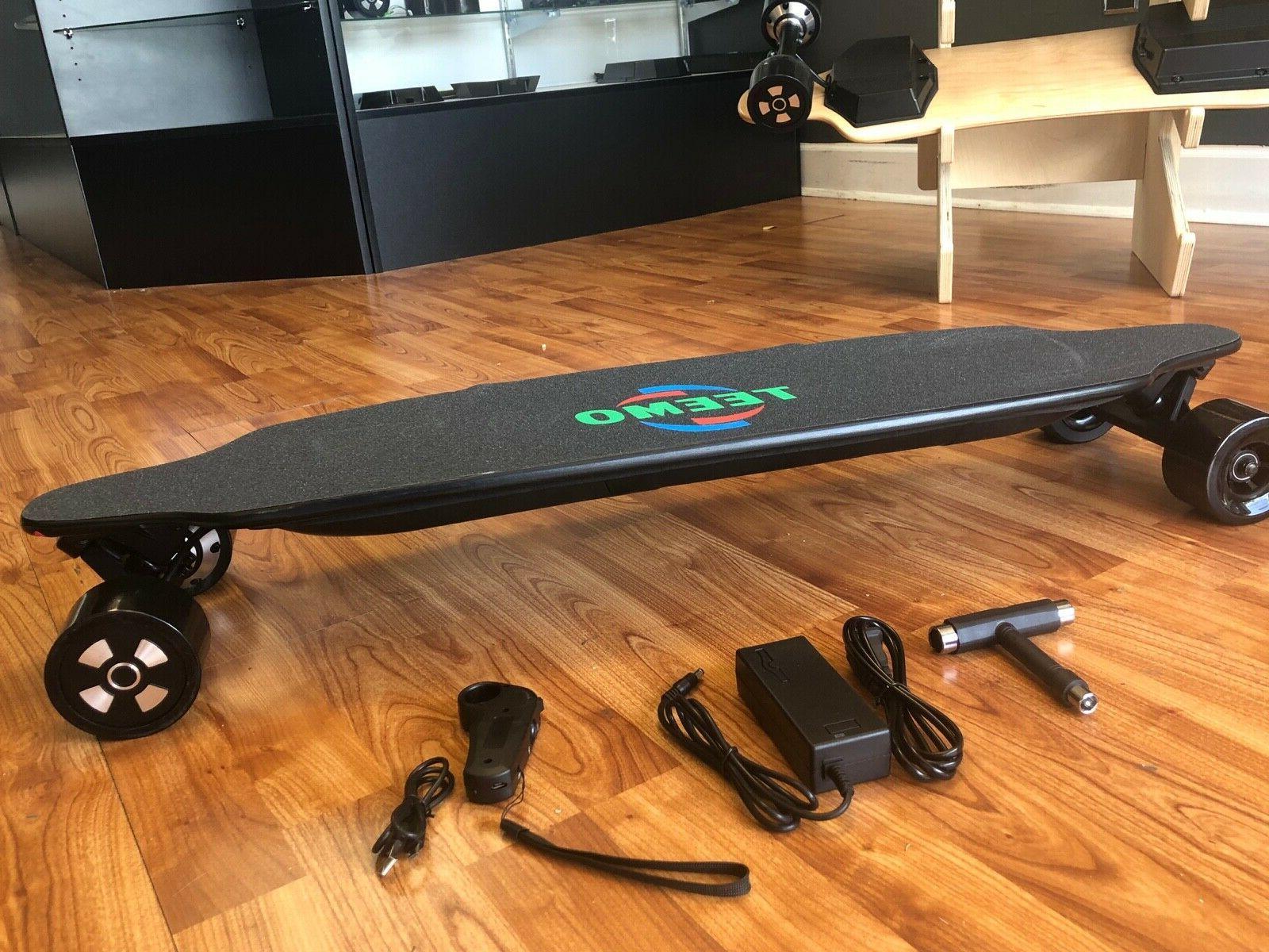 TEEMO Skateboard Longboard 23MPH range miles