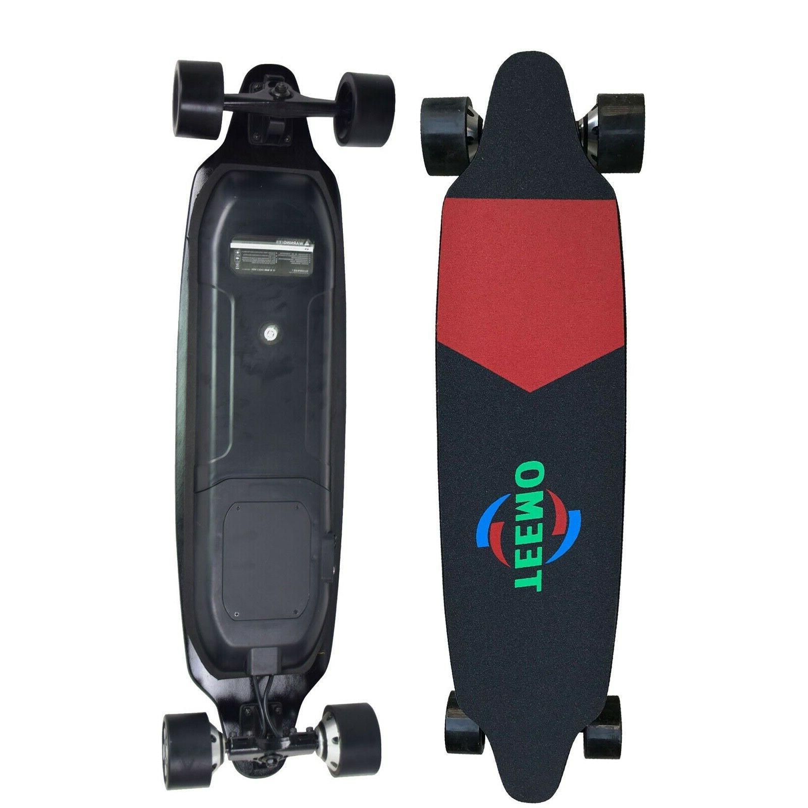 electric skateboard longboard 23mph dual motor long