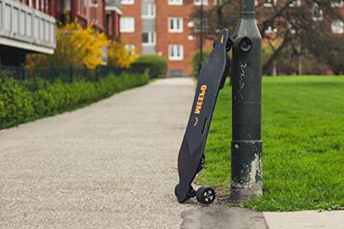 Longboard, Electric Skateboard with Controller - 800 Motors Range 29 Speed 30%