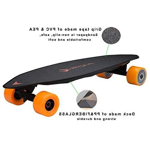 Maxfind Electric Skateboard Dual Motor 1000w Top Speed 36km/h Max 26km Board