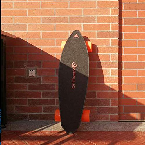 "Maxfind Skateboard Longboard 31"" 16.2 Miles Cutting Remote Controller"