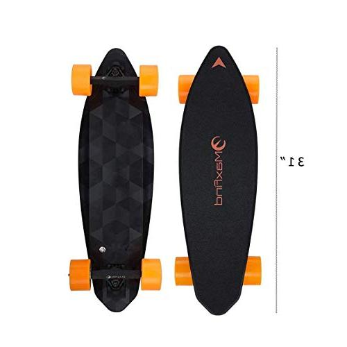 electric skateboard longboard dual motor