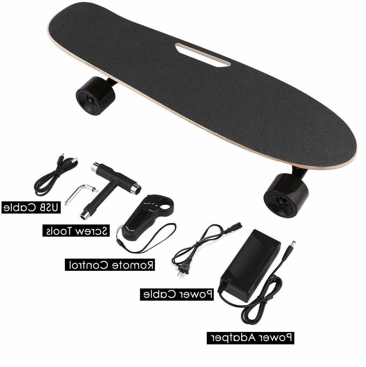 Electric Skateboard Hub Control Battery Wheel