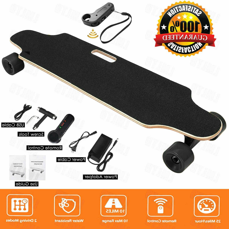 Aceshin Electric Skateboard Longboard w/ Wireless Handheld R