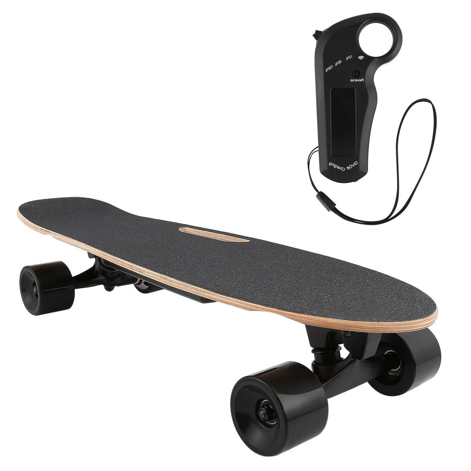 Aceshin Electric Skateboard 350W Motor Longboard Board Wirel