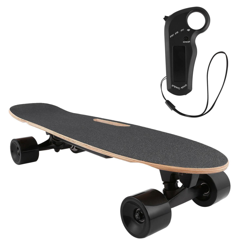 Aceshin Electric Skateboard 350W Motor Board Wireless w/Remo