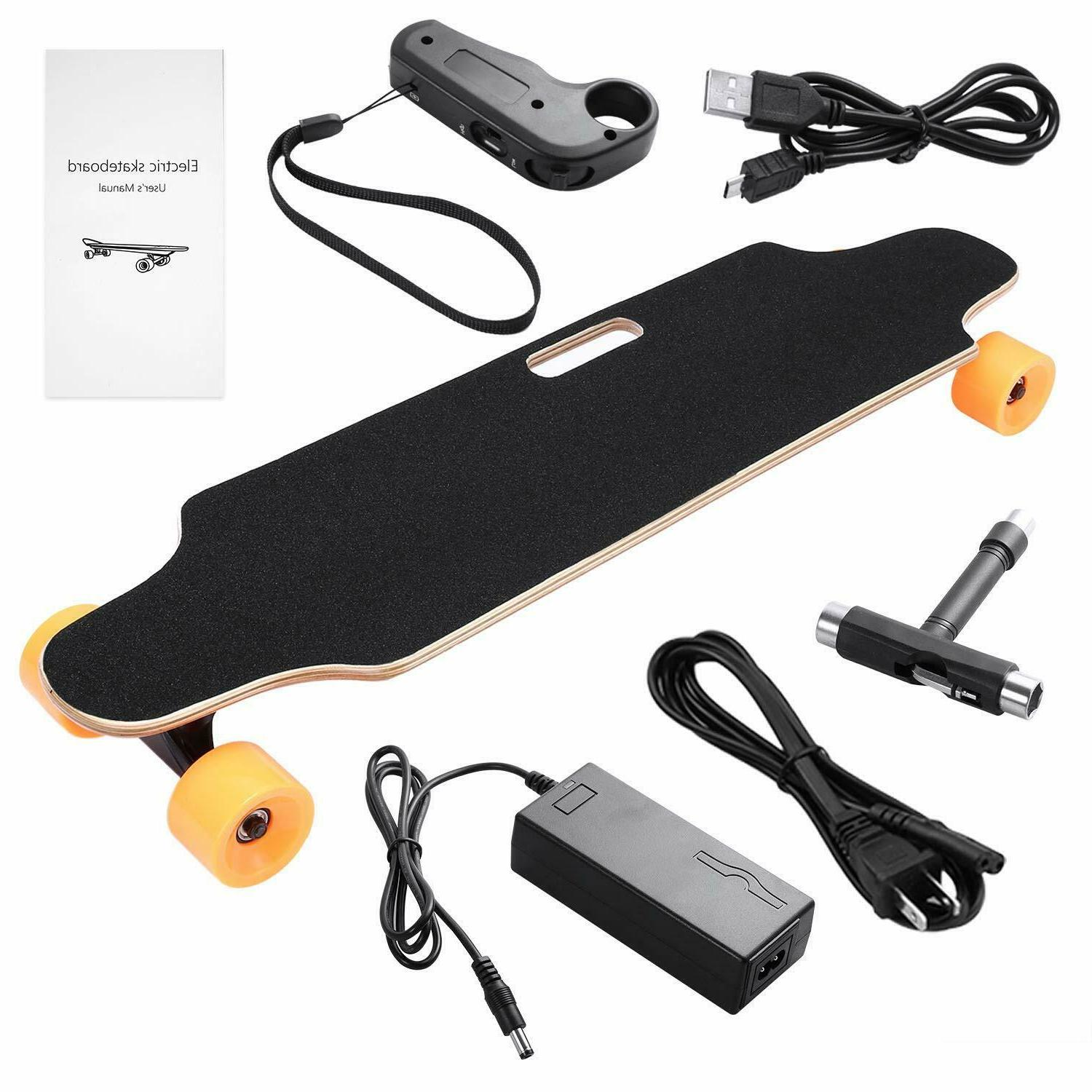 Electric Skateboard Motorized Long Board With Remote Control