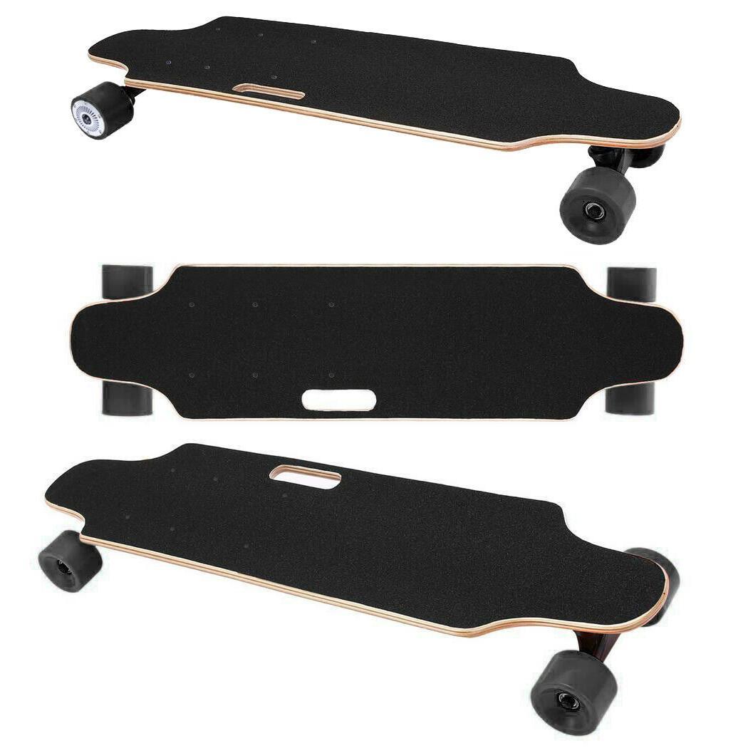 RAIDER Skateboard Longboard Remote & Black Long Board