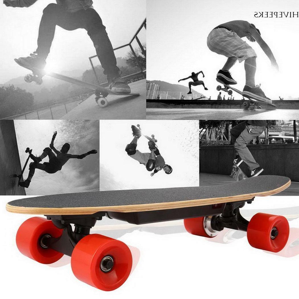 Electric Moterized Skateboard Wireless+Remote Deck~