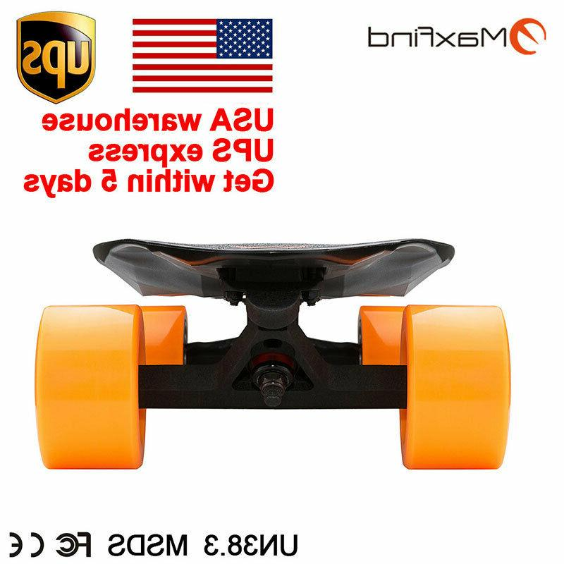 Maxfind Electric Skateboard Scooter Wheels Remote Control