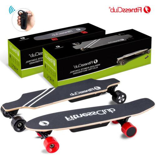 electric skateboard longboard scooter with wireless remote