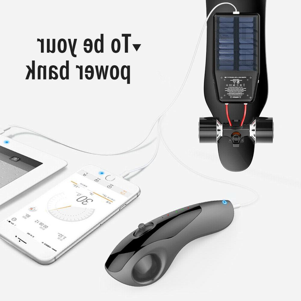 iFasun Electric Skateboard w/ Remote, 22MPH Single Motor 004