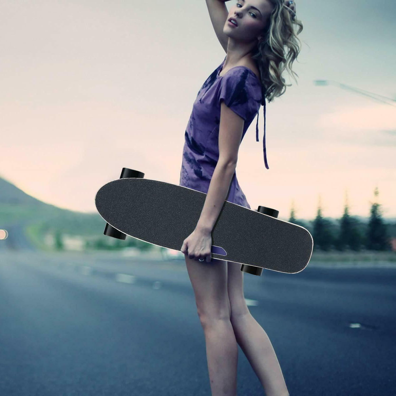 Electric Skateboard Teens Motor Smart Sensors Cruiser 7 Layer Maple