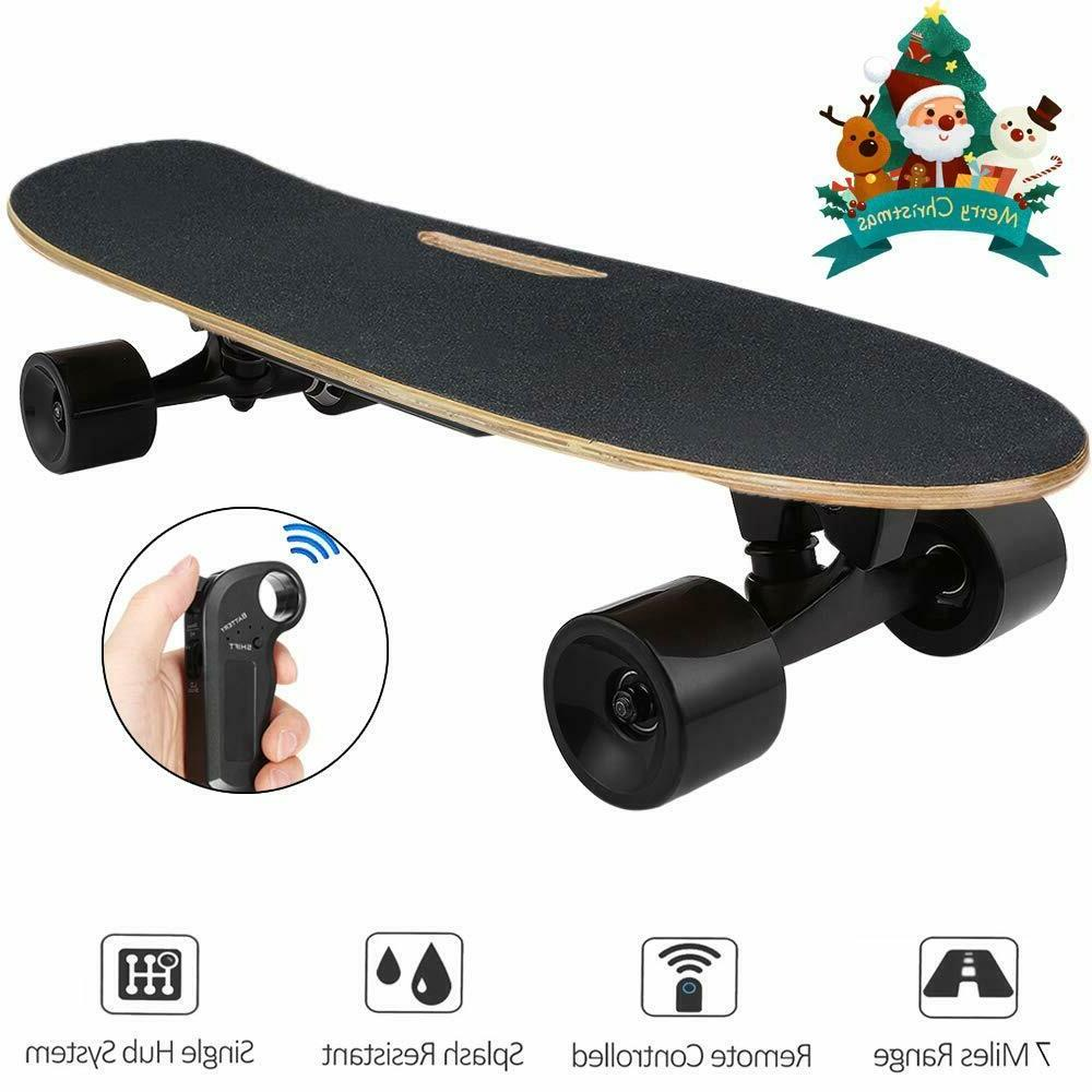 electric skateboard longboard w remote small