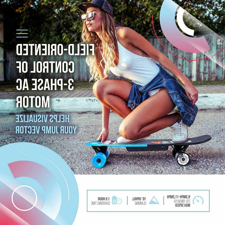 Electric Skateboard Longboard Remote 400W