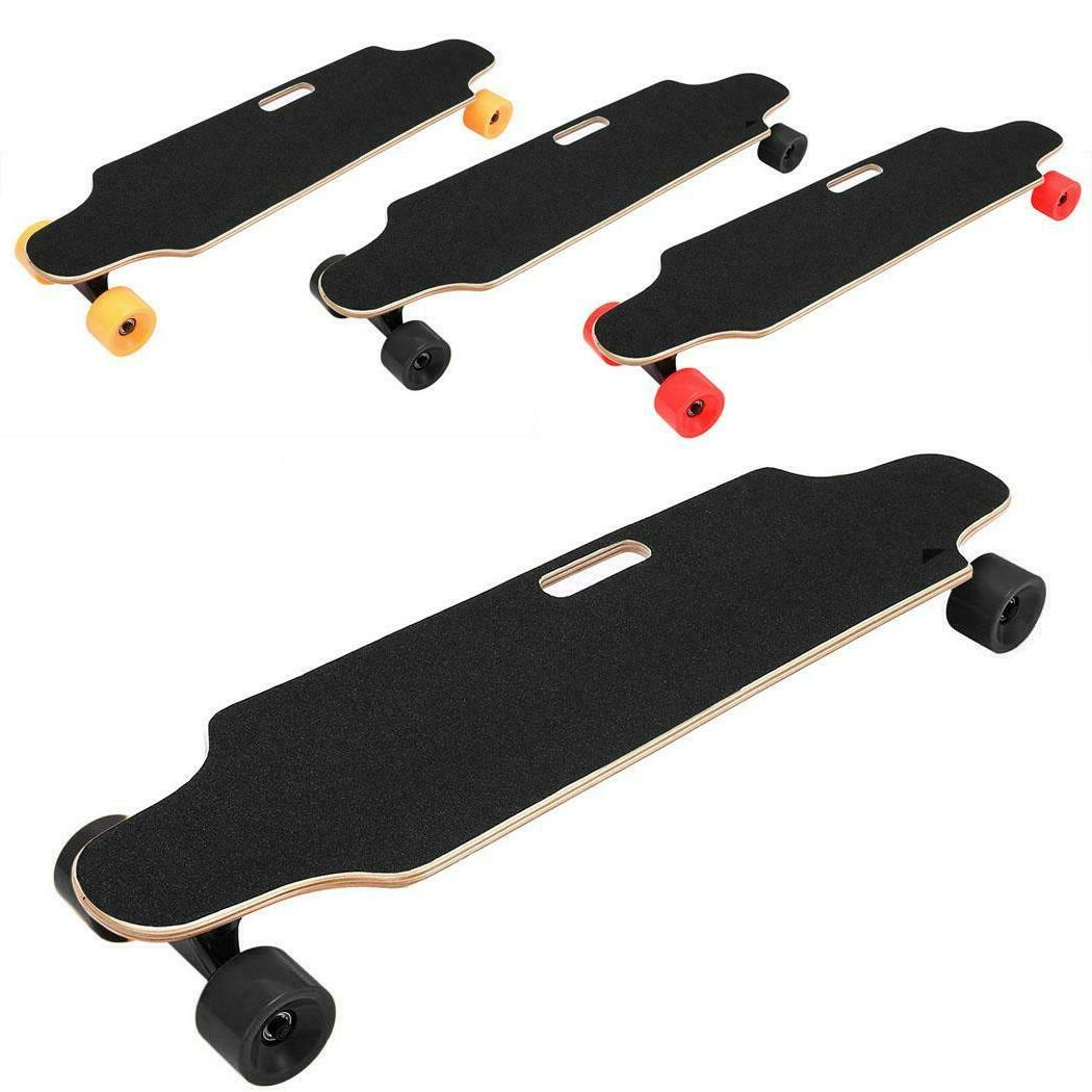 electric skateboard longboard with remote controller thp