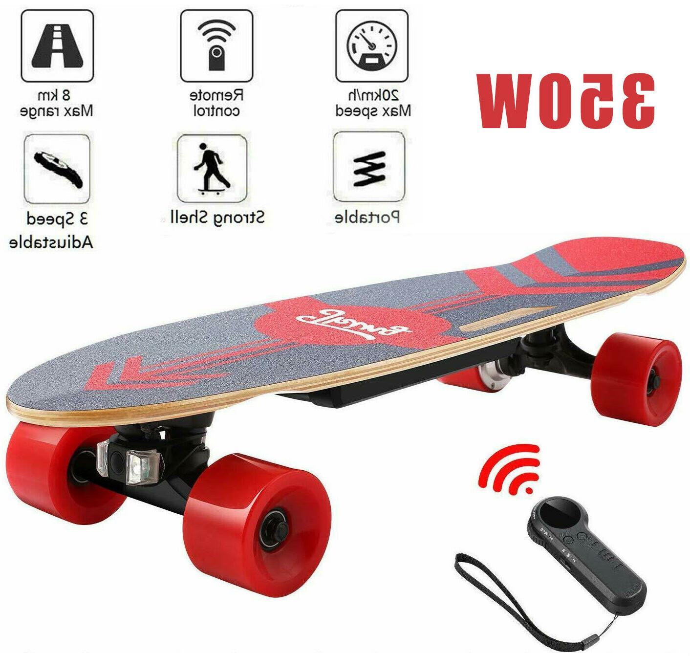 ancheer electric skateboard power motor cruiser maple