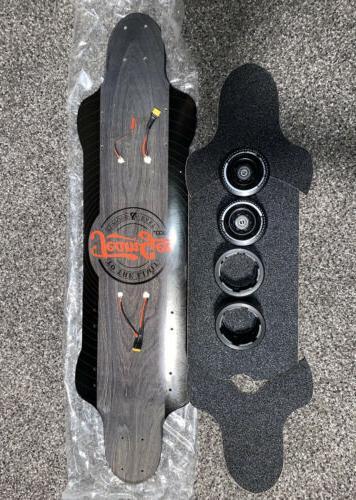 electric skateboard parts read deck wheels bearings