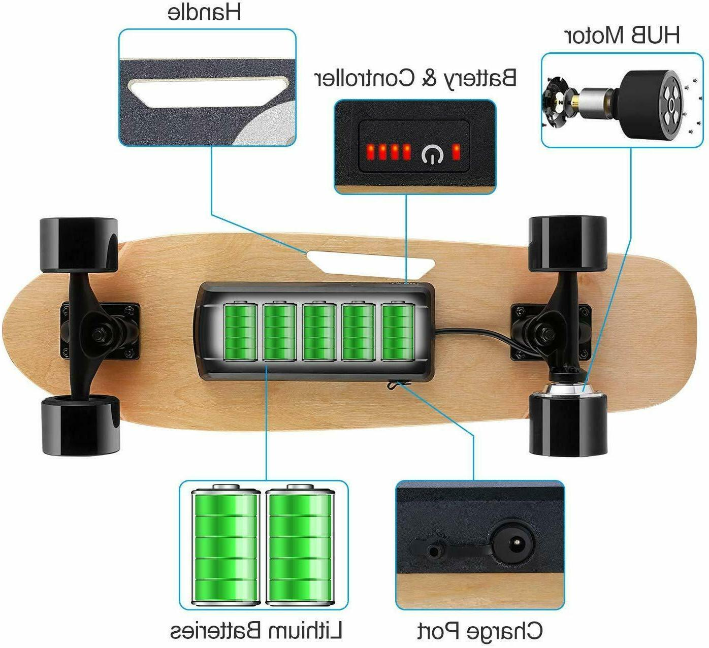 Electric Skateboard Power Cruiser with