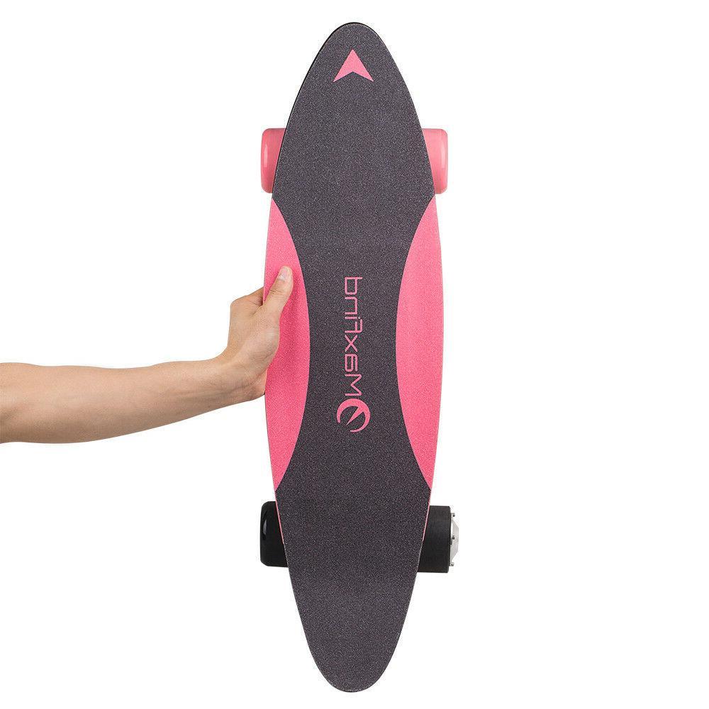 MaxFind  Electric Skateboard Protable 27 Inch Cruiser Motori