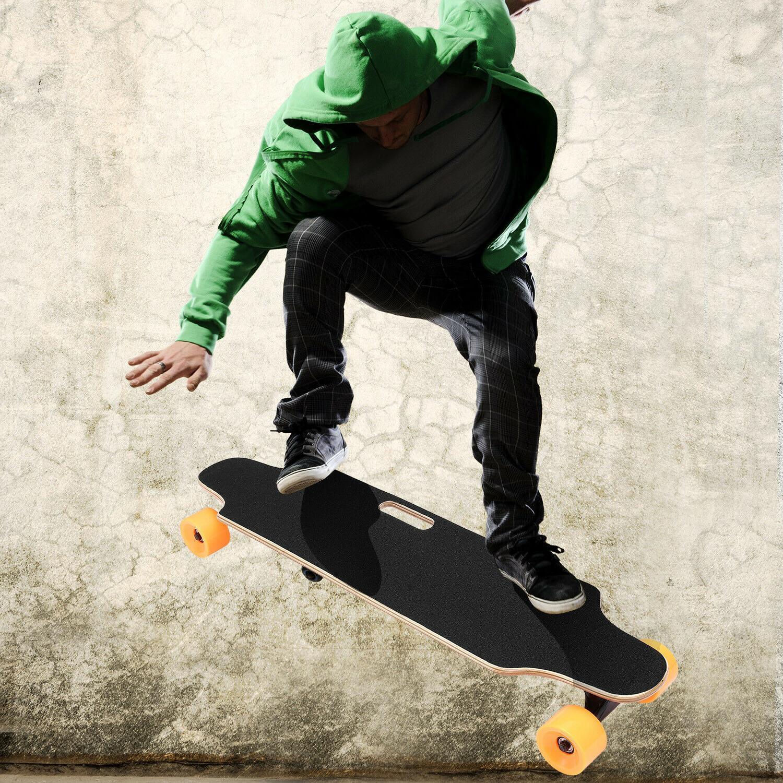 ANCHEER Hub Skateboard Longboard Maple